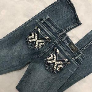 ZCO Flare Leg Low Rise Jeans